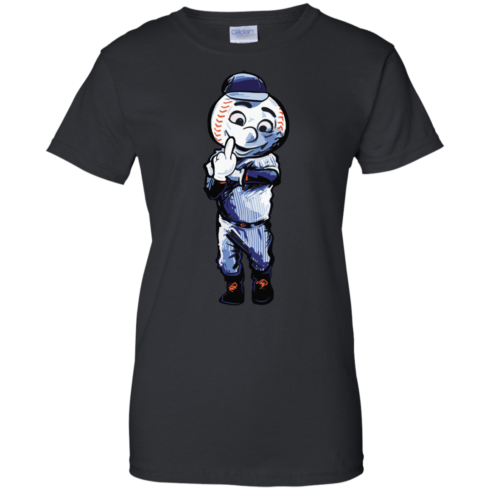 image 698 490x490px Mr. Met Middle Finger T Shirts, Hoodies