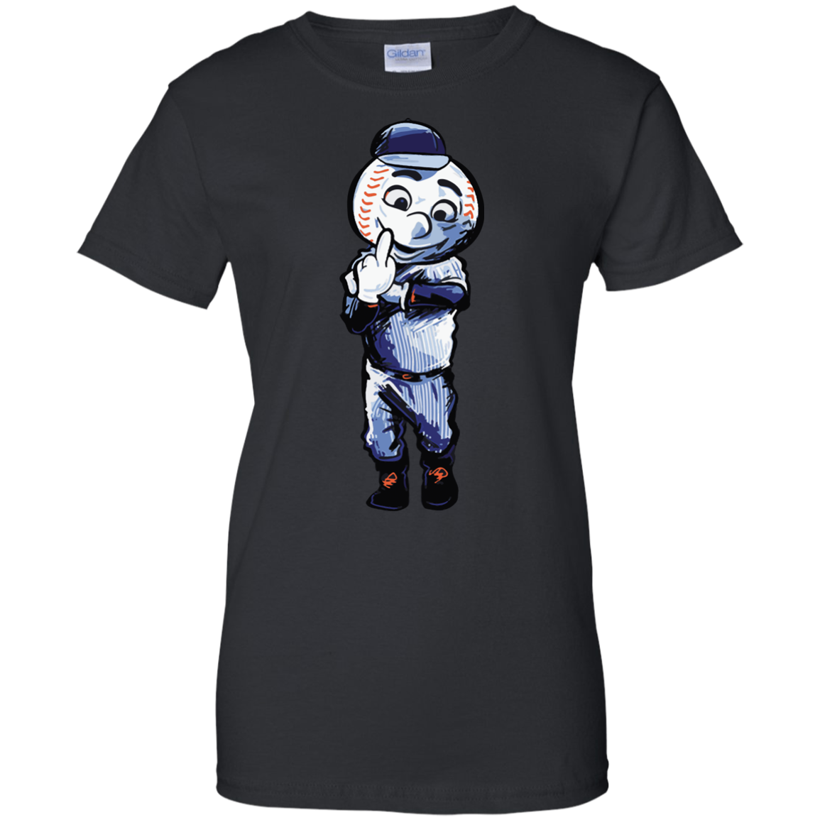image 698px Mr. Met Middle Finger T Shirts, Hoodies