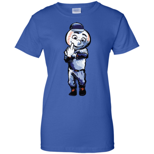 image 699 490x490px Mr. Met Middle Finger T Shirts, Hoodies