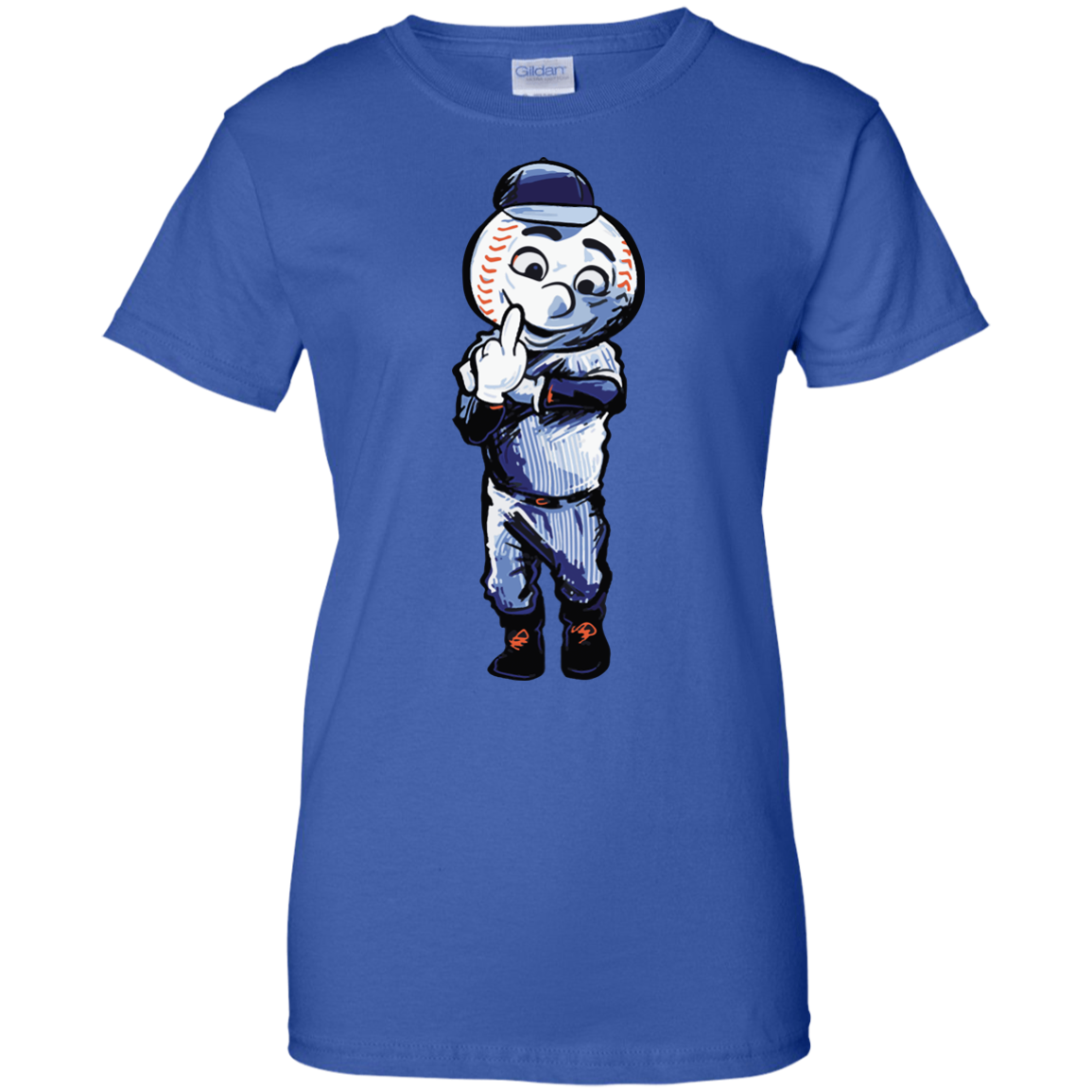 image 699px Mr. Met Middle Finger T Shirts, Hoodies