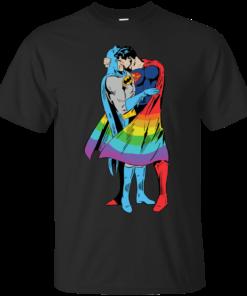 superman kiss batman
