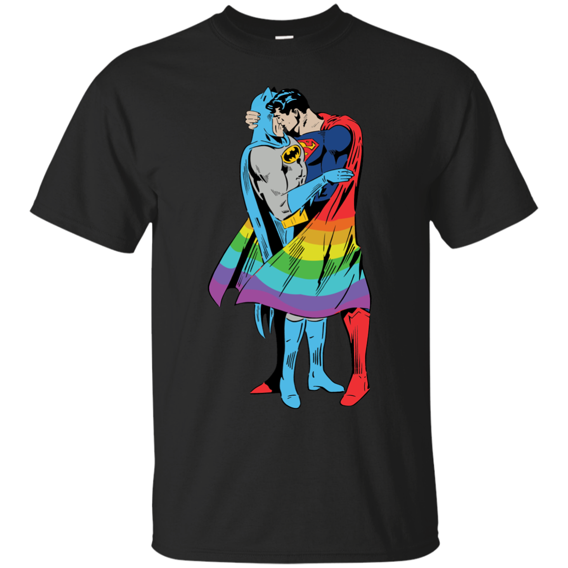 superman kiss batman