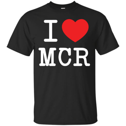 image 74 490x490px I Love Manchester T Shirts