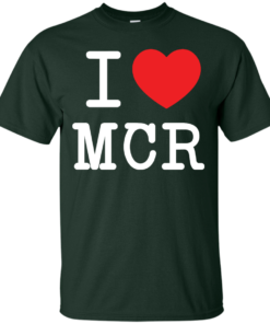 image 75 247x296px I Love Manchester T Shirts