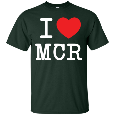 image 75 490x490px I Love Manchester T Shirts