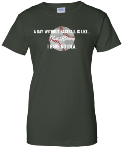 image 756 247x296px A Day Without Baseball Is Like... Just Kidding I Have No Idea T Shirts, Hoodies