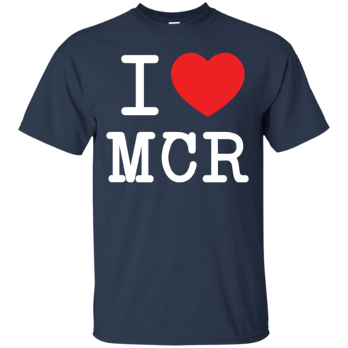 image 76 490x490px I Love Manchester T Shirts