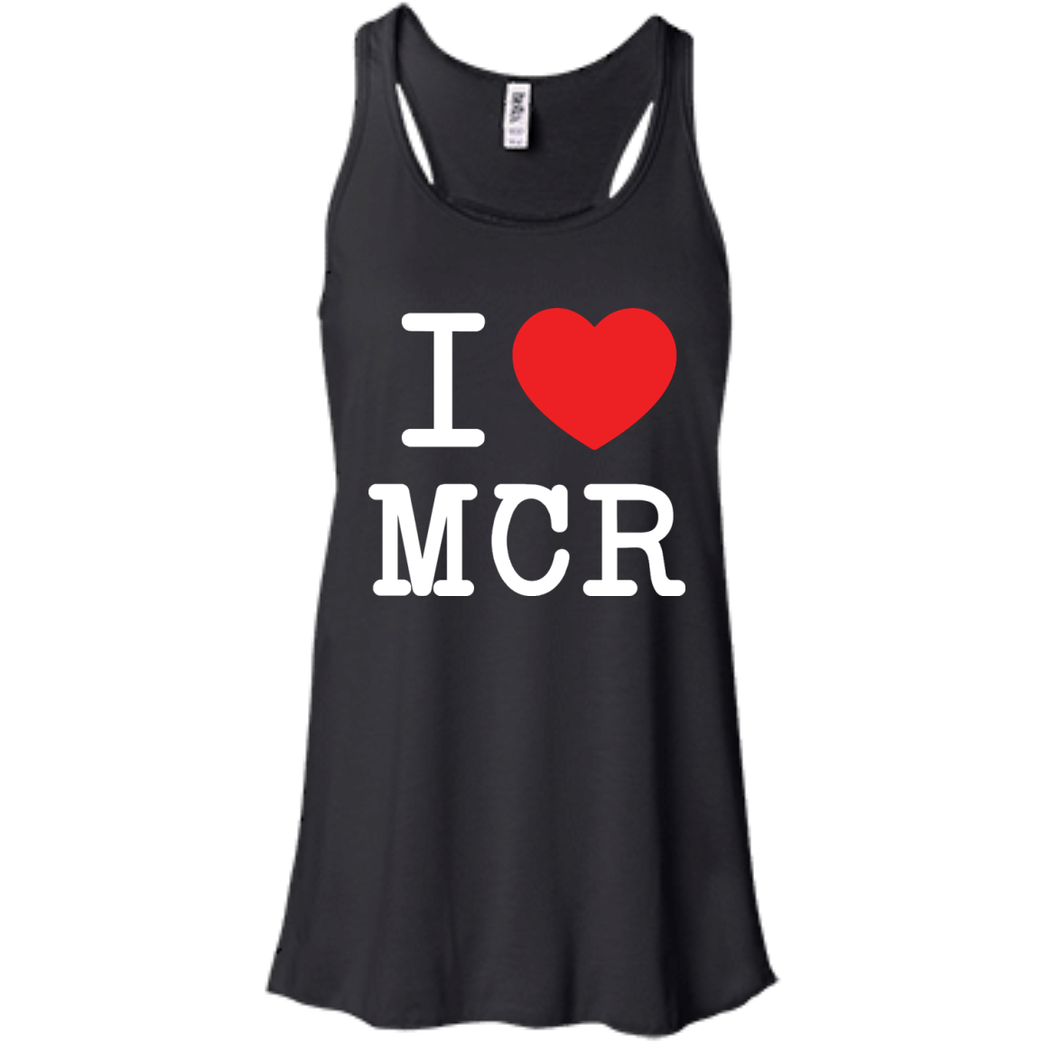 image 77px I Love Manchester T Shirts
