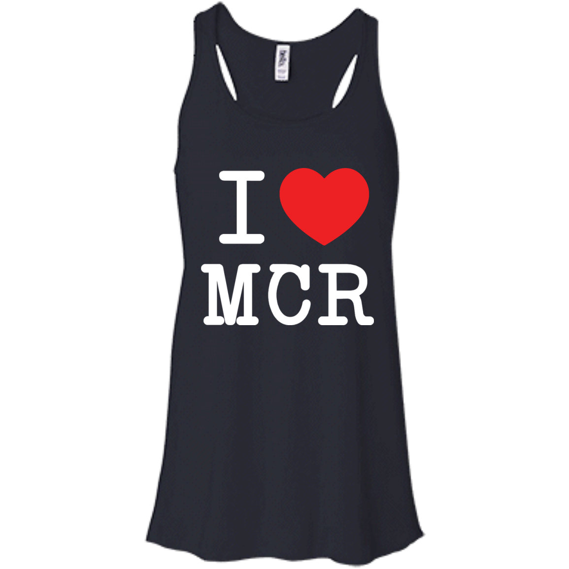 image 78px I Love Manchester T Shirts