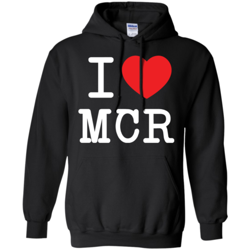 image 79 490x490px I Love Manchester T Shirts