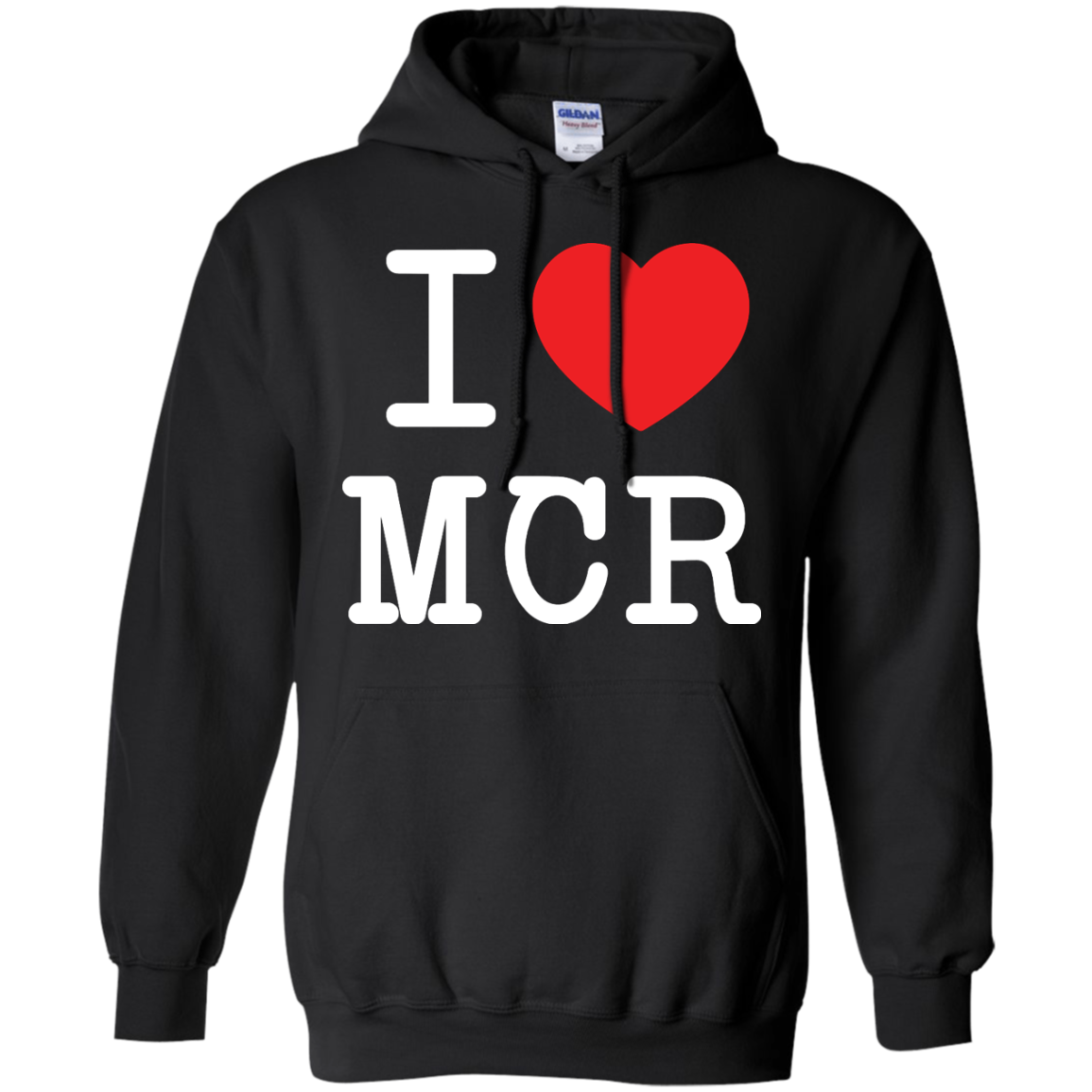 image 79px I Love Manchester T Shirts