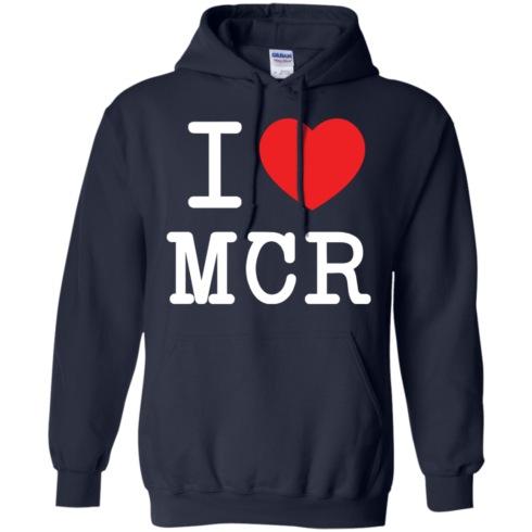 image 80 490x490px I Love Manchester T Shirts