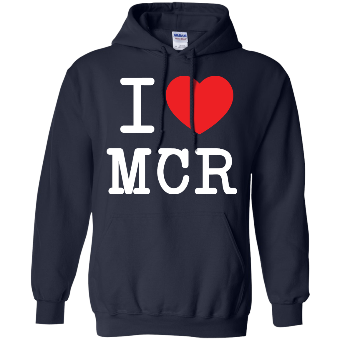image 80px I Love Manchester T Shirts