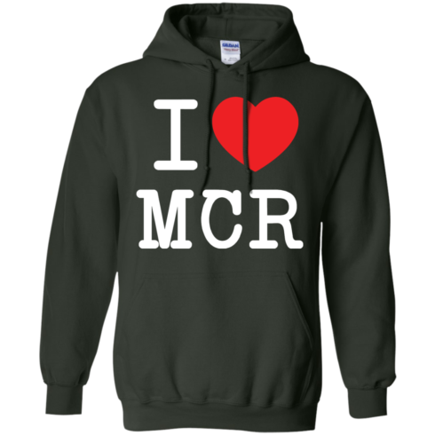 image 81 490x490px I Love Manchester T Shirts