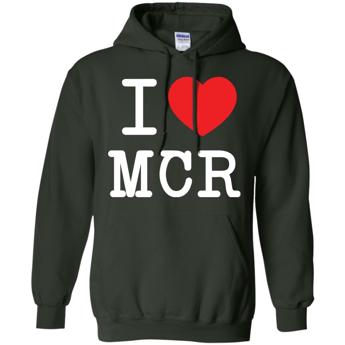 image 81px I Love Manchester T Shirts