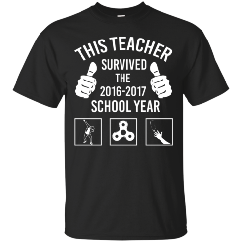 image 812 490x490px This Teacher Survived The 2016 2017 School Year T Shirts, Hoodies