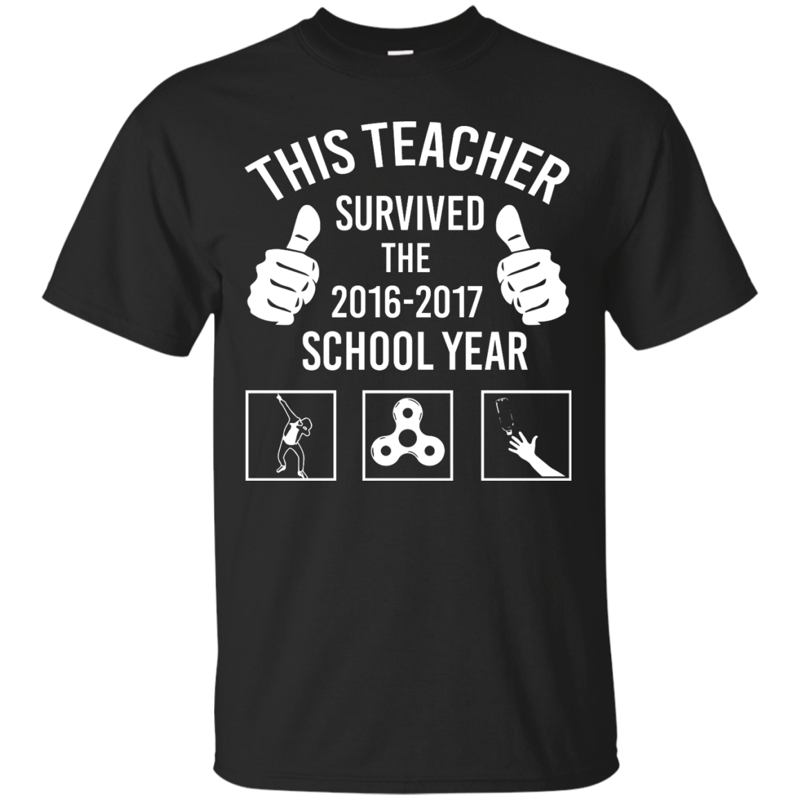 image 812px This Teacher Survived The 2016 2017 School Year T Shirts, Hoodies