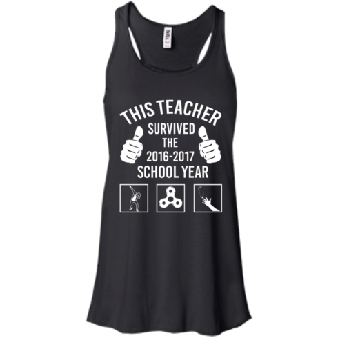 image 814 490x490px This Teacher Survived The 2016 2017 School Year T Shirts, Hoodies