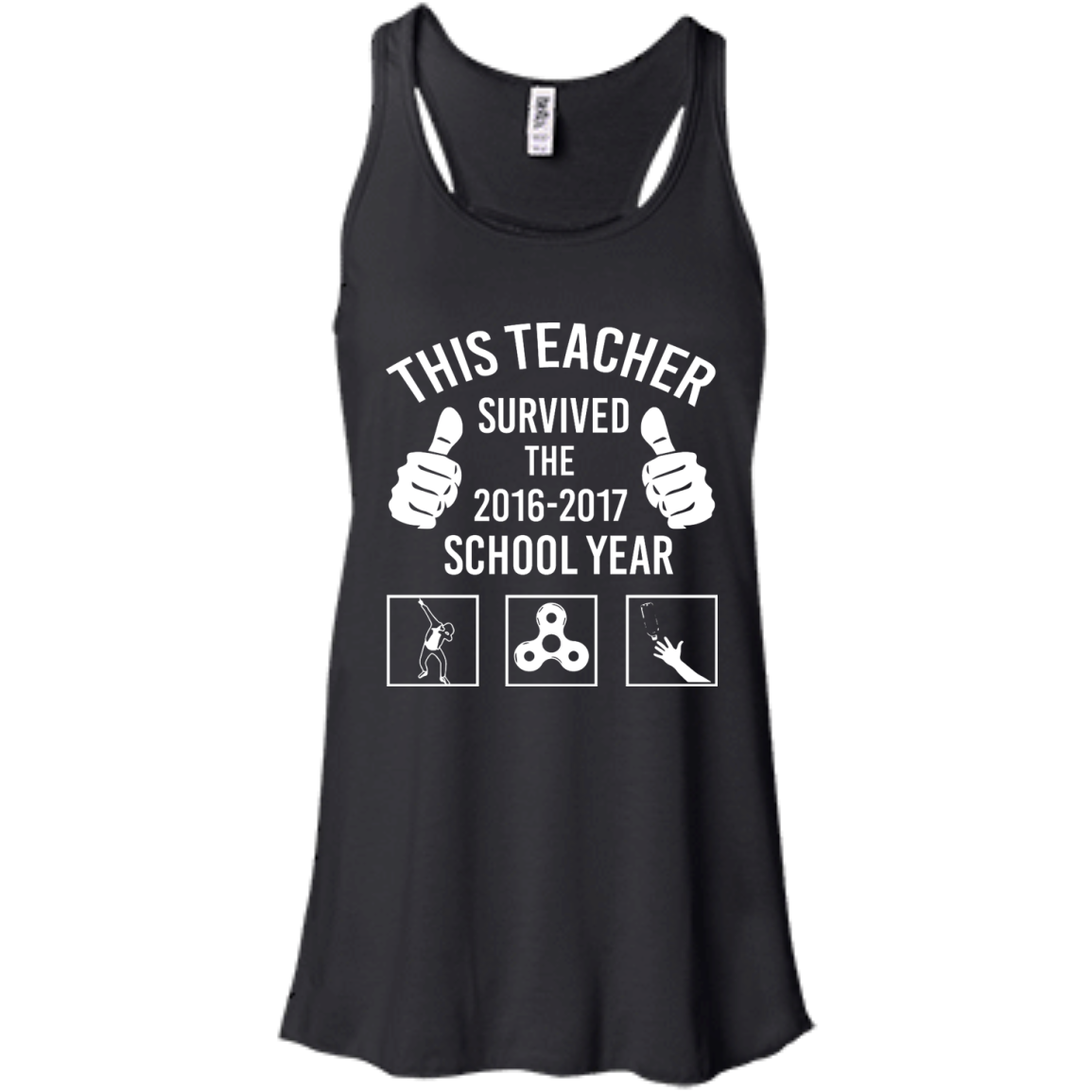 image 814px This Teacher Survived The 2016 2017 School Year T Shirts, Hoodies