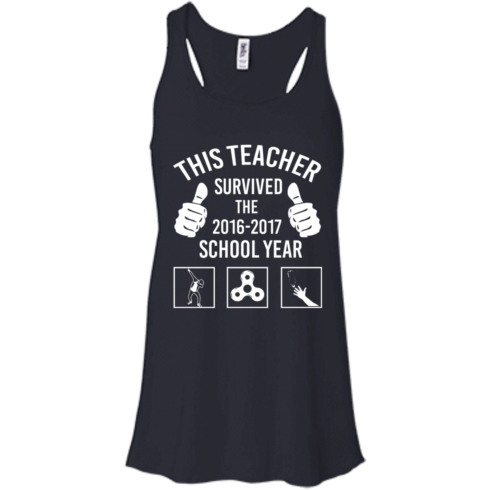 image 815 490x490px This Teacher Survived The 2016 2017 School Year T Shirts, Hoodies
