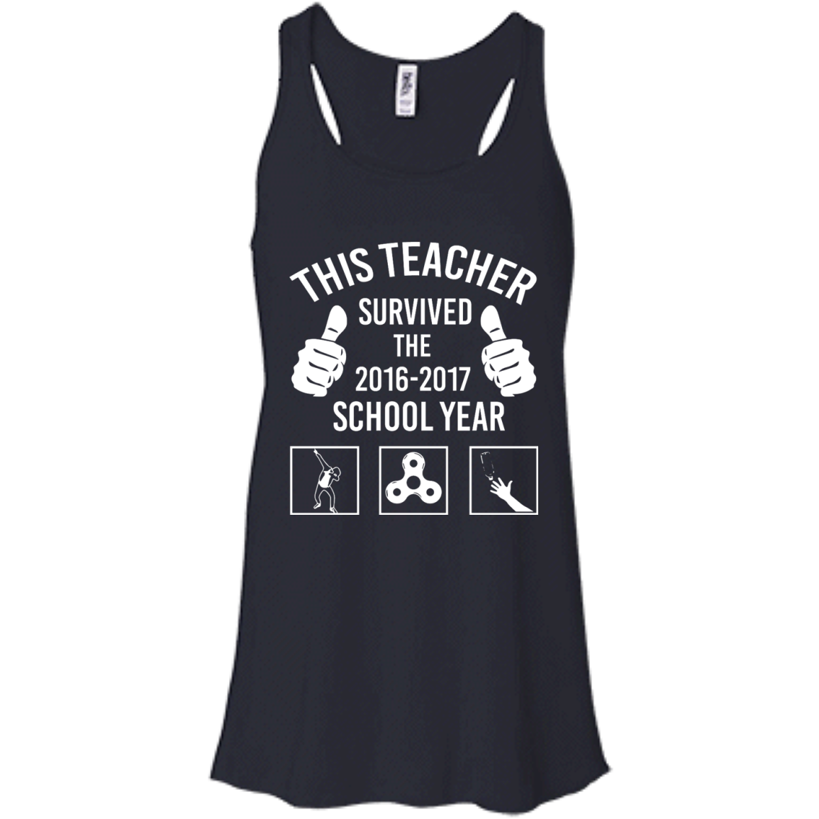 image 815px This Teacher Survived The 2016 2017 School Year T Shirts, Hoodies