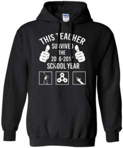 image 816 247x296px This Teacher Survived The 2016 2017 School Year T Shirts, Hoodies