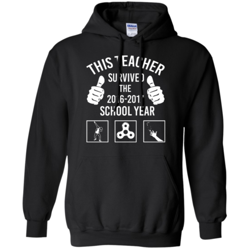 image 816 490x490px This Teacher Survived The 2016 2017 School Year T Shirts, Hoodies