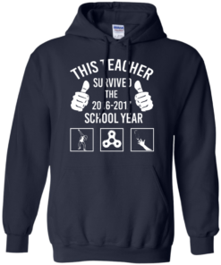 image 817 247x296px This Teacher Survived The 2016 2017 School Year T Shirts, Hoodies
