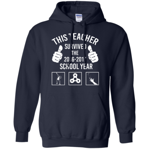 image 817 490x490px This Teacher Survived The 2016 2017 School Year T Shirts, Hoodies