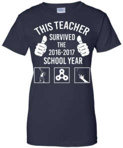 image 819 247x296px This Teacher Survived The 2016 2017 School Year T Shirts, Hoodies