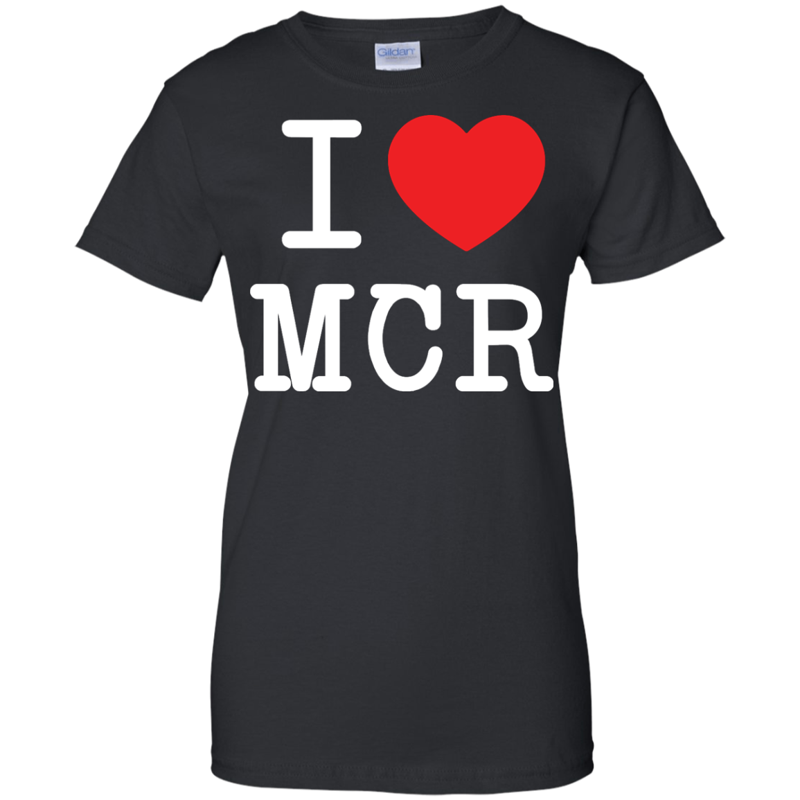 image 82px I Love Manchester T Shirts