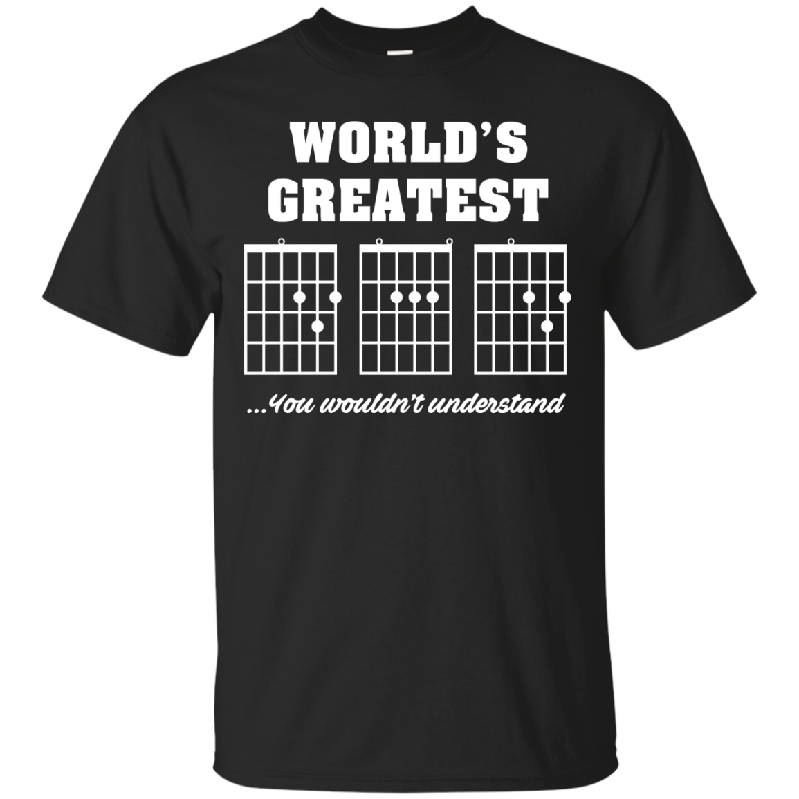 image 820px F Chord DAD Guitar World's Greatest Dad T Shirts, Hoodies