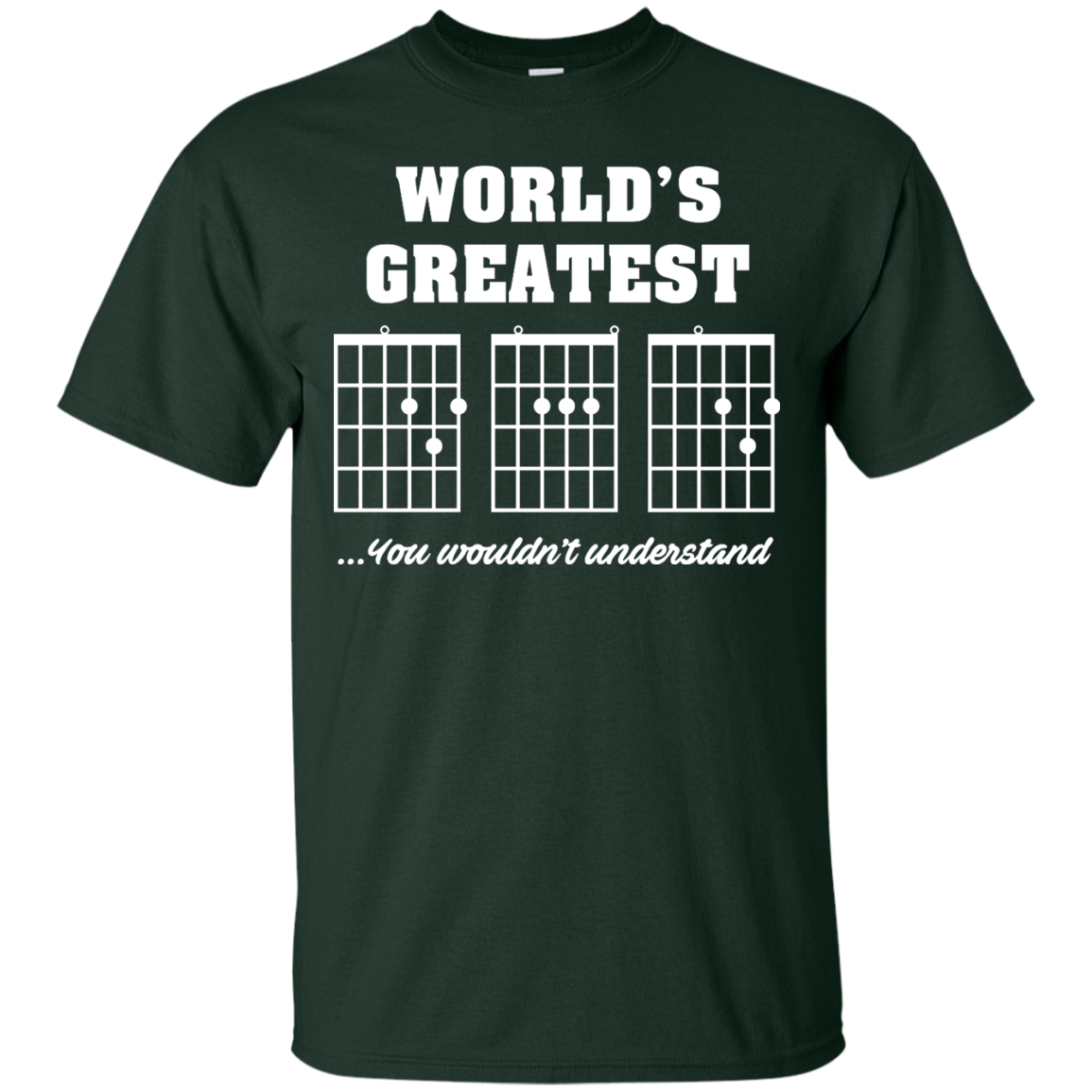 image 821px F Chord DAD Guitar World's Greatest Dad T Shirts, Hoodies