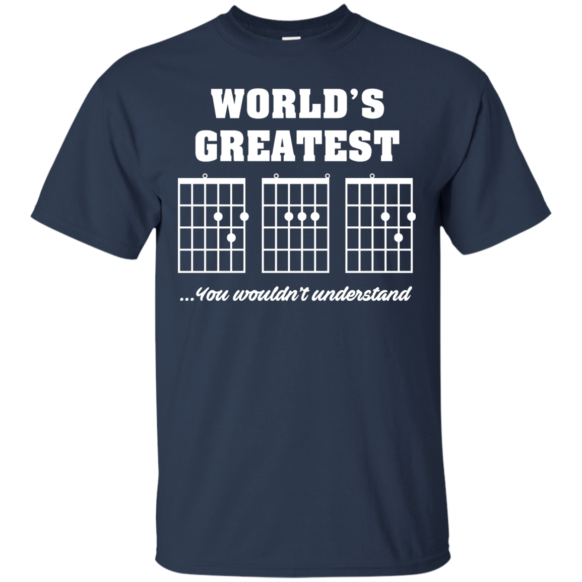 image 822px F Chord DAD Guitar World's Greatest Dad T Shirts, Hoodies
