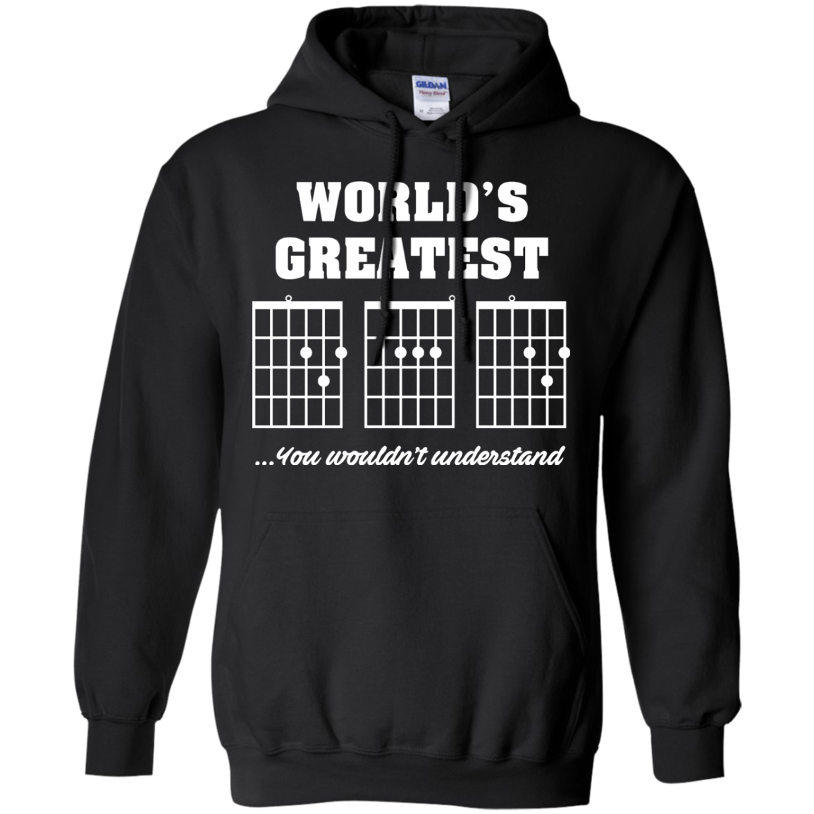 image 823px F Chord DAD Guitar World's Greatest Dad T Shirts, Hoodies
