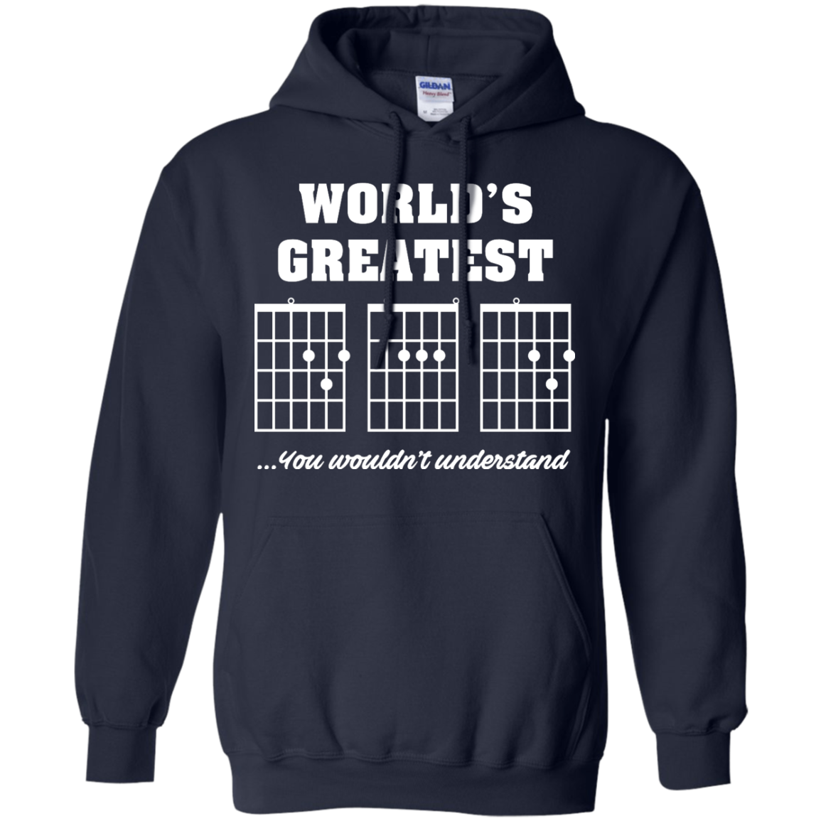 image 824px F Chord DAD Guitar World's Greatest Dad T Shirts, Hoodies