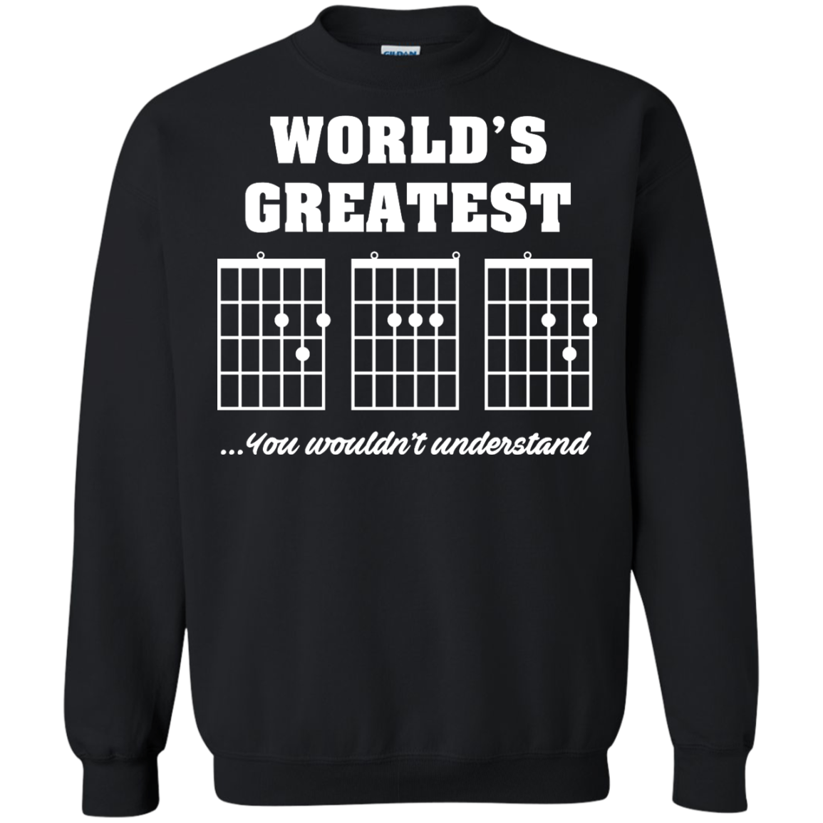 image 826px F Chord DAD Guitar World's Greatest Dad T Shirts, Hoodies