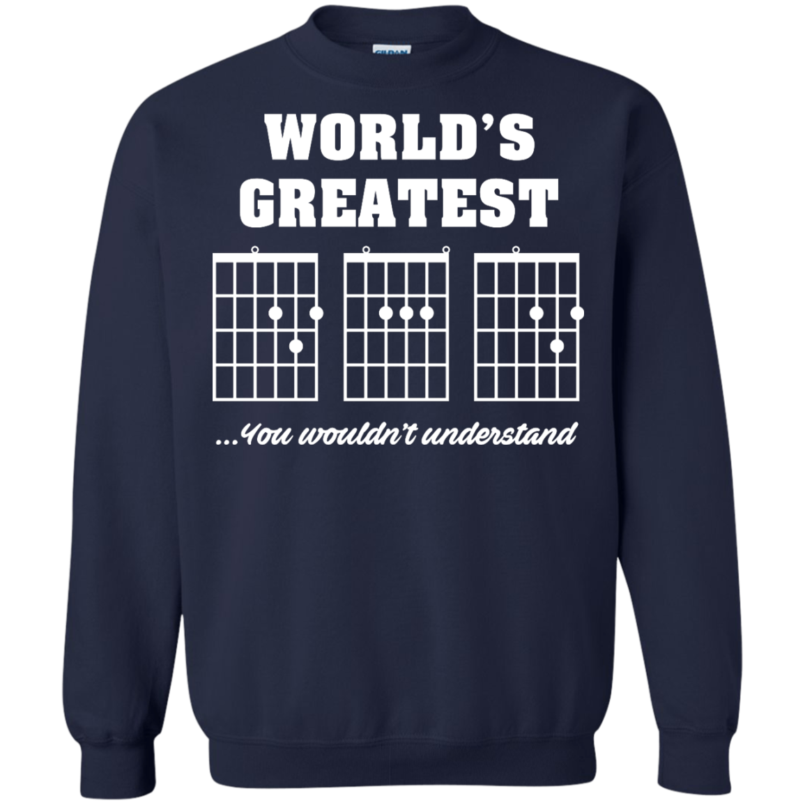 image 827px F Chord DAD Guitar World's Greatest Dad T Shirts, Hoodies