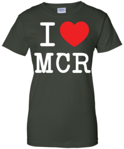 image 83 247x296px I Love Manchester T Shirts