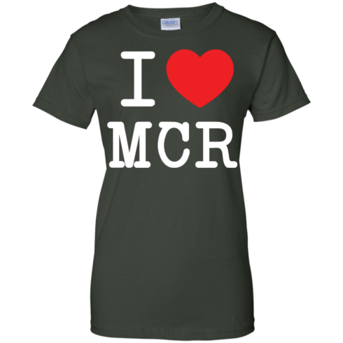 image 83 490x490px I Love Manchester T Shirts