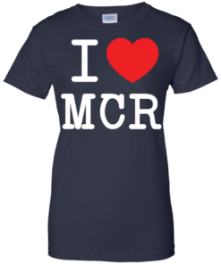 image 84 247x296px I Love Manchester T Shirts
