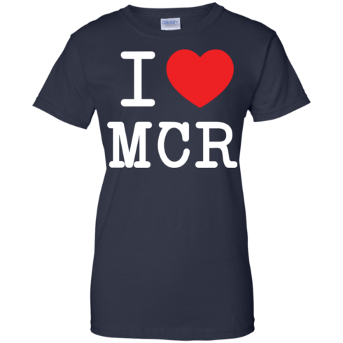 image 84 490x490px I Love Manchester T Shirts
