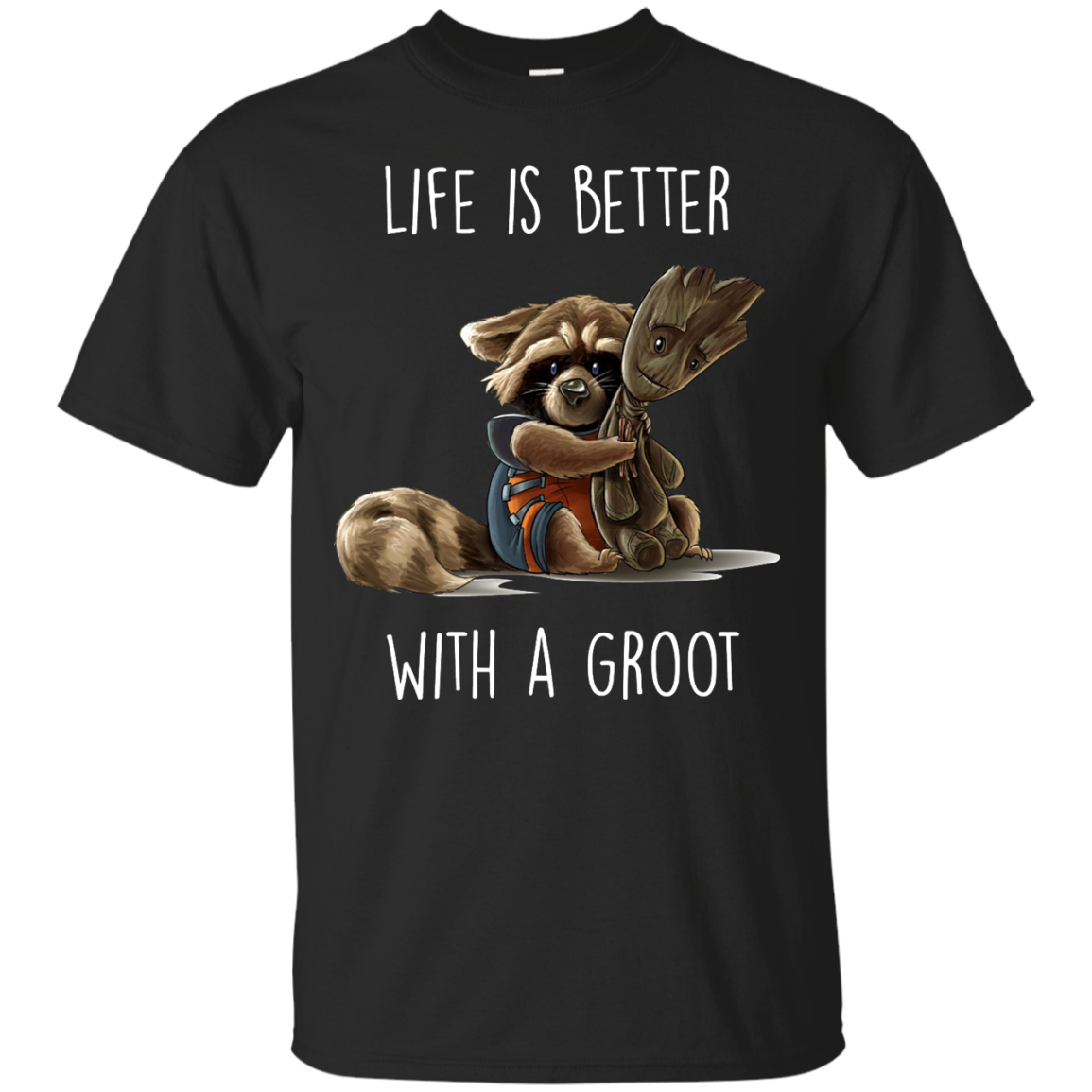 image 851px The Guardian of The Galaxy: Life Is Better With A Groot T Shirts, Hoodies