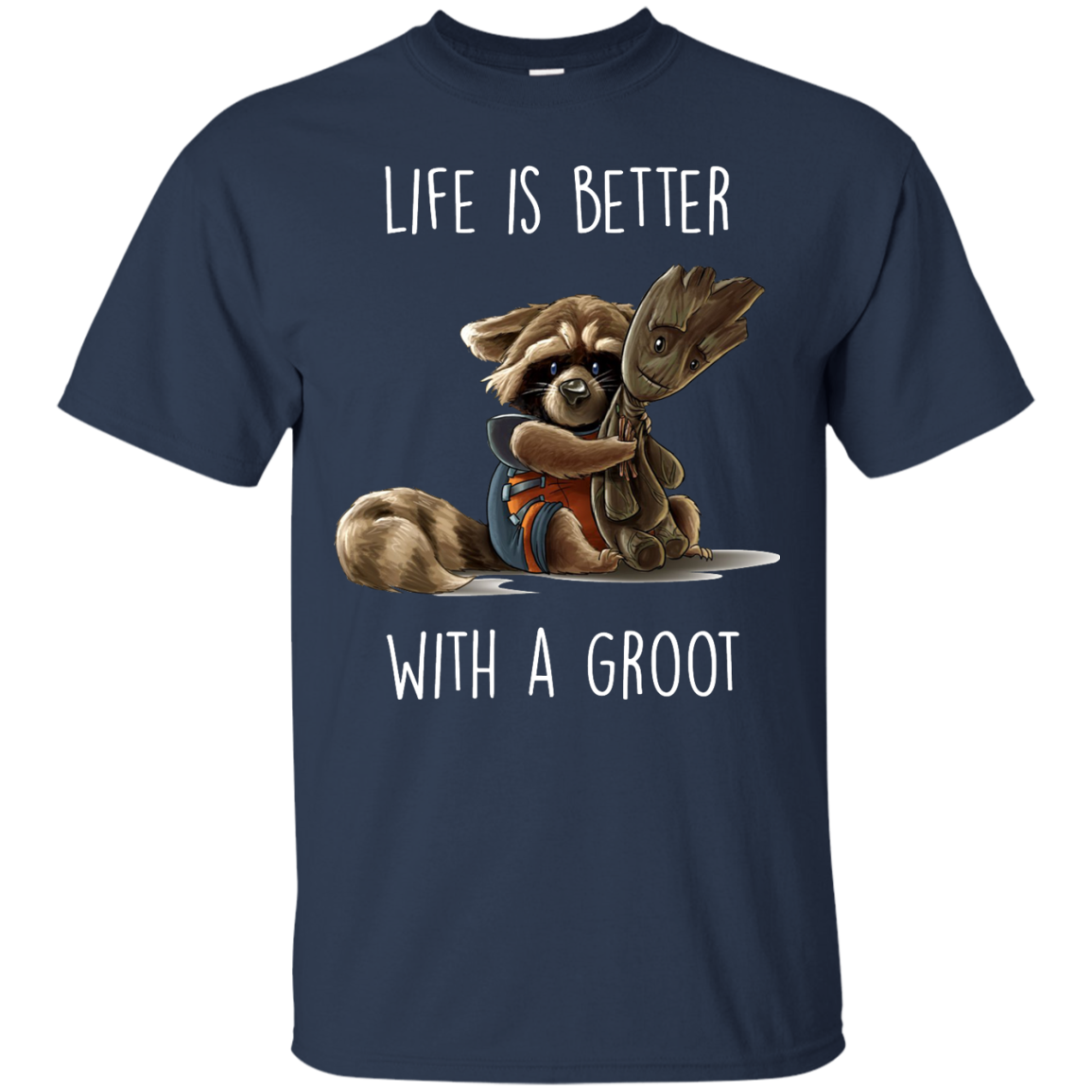 image 852px The Guardian of The Galaxy: Life Is Better With A Groot T Shirts, Hoodies