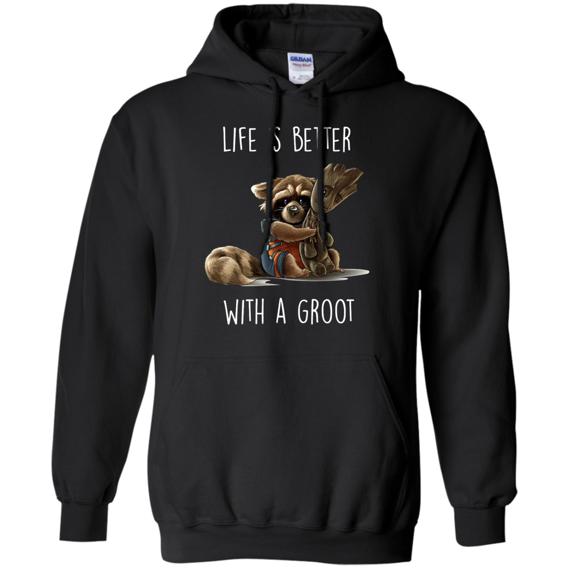 image 855px The Guardian of The Galaxy: Life Is Better With A Groot T Shirts, Hoodies