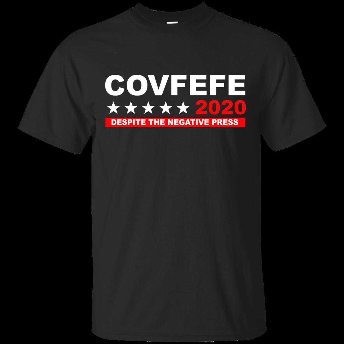 image 873px Covfefe 2020 Despite The Negative Press T Shirts, Hoodies