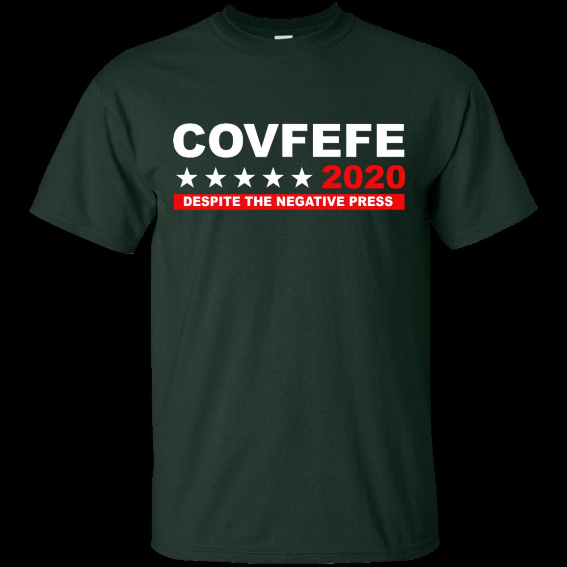 image 874px Covfefe 2020 Despite The Negative Press T Shirts, Hoodies