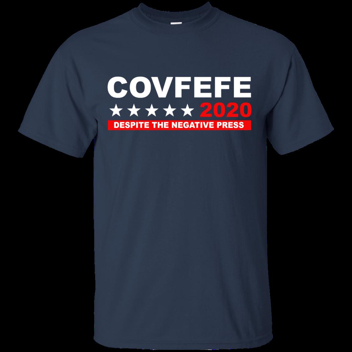 image 875px Covfefe 2020 Despite The Negative Press T Shirts, Hoodies