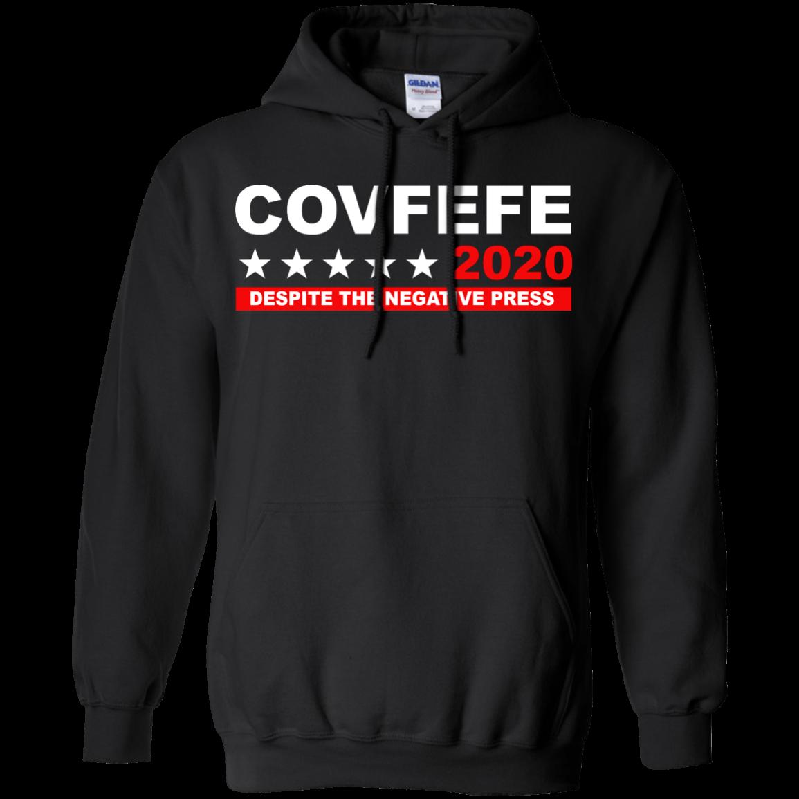 image 876px Covfefe 2020 Despite The Negative Press T Shirts, Hoodies