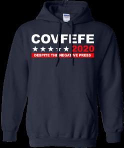 image 877 247x296px Covfefe 2020 Despite The Negative Press T Shirts, Hoodies